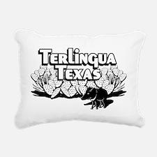 Terlingua Texas Rectangular Canvas Pillow