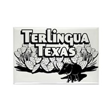 Terlingua Texas Rectangle Magnet