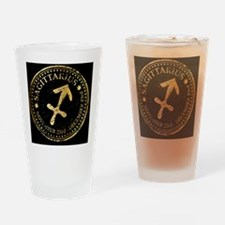 Sagittarius Drinking Glass