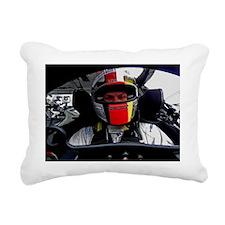Racing PIctures 8 Rectangular Canvas Pillow