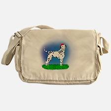 Christmas Dalmatian Messenger Bag