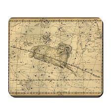 Vintage Aries Celestial Map Mousepad