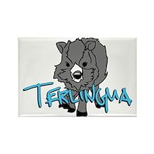 Terlingua Javalina Rectangle Magnet