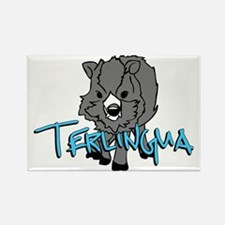 Terlingua Javalina Rectangle Magnet
