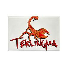 Terlingua Scorpion Rectangle Magnet