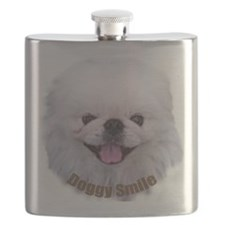 A Face02 Doggy Smile Flask