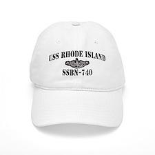 USS RHODE ISLAND Baseball Cap