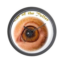 Eye of the Toller Wall Clock