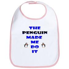 Blame the Penguin Bib