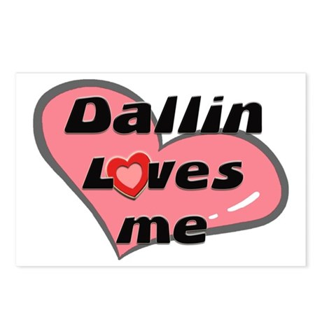 dallin loves me Postcards (Package of 8)