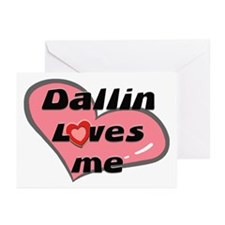 dallin loves me  Greeting Cards (Pk of 10)