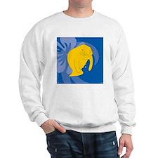 Manatee Puzzle Coasters Sweatshirt