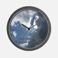 Courage10 Wall Clock