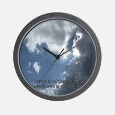 courage16 Wall Clock
