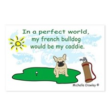 french bulldog and more d Postcards (Package of 8)