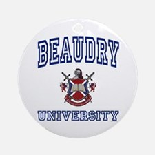 BEAUDRY University Ornament (Round)