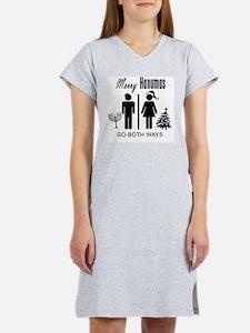 Merry Hanumas - Go Both Ways Women's Nightshirt
