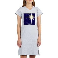 Christmas Star Women's Nightshirt