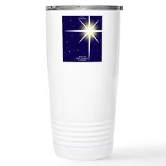 Christmas Star Stainless Steel Travel Mug