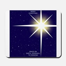 Christmas Star Mousepad