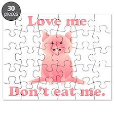Love Me Dont Eat Me Puzzle