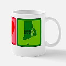 Peace Love Rhode Island Mug