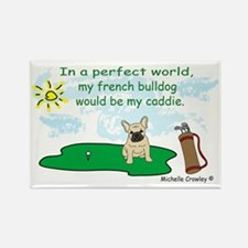 french bulldog and more dog breed Rectangle Magnet