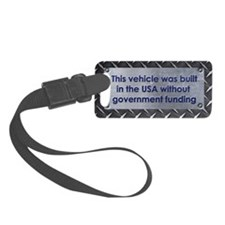 Built in the USA Luggage Tag