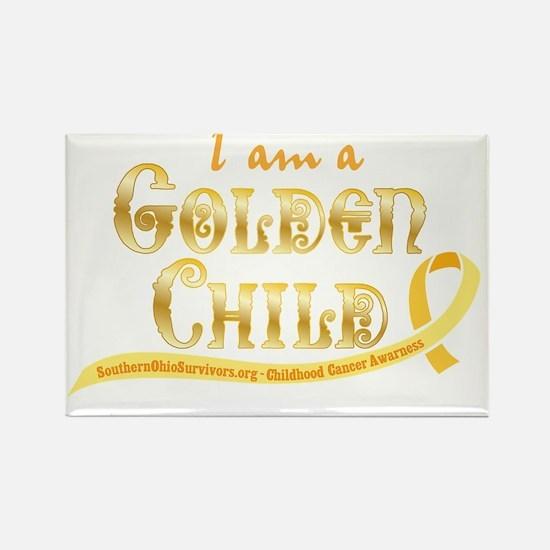 I am a Golden Child Rectangle Magnet