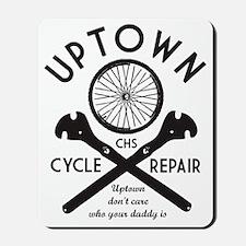 Charleston Uptown Bikes Mousepad