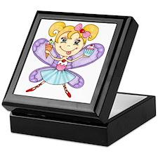 Cupcake Fairy Keepsake Box