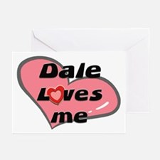 dale loves me  Greeting Cards (Pk of 10)