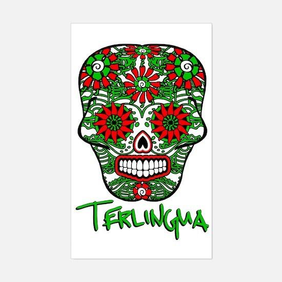 Terlingua Chili Pepper Sugar S Sticker (Rectangle)