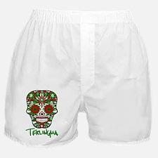 Terlingua Chili Pepper Sugar Skull Boxer Shorts