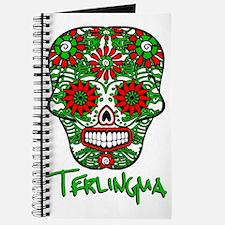 Terlingua Chili Pepper Sugar Skull Journal