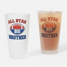 All Star Football Big Brother Drinking Glass