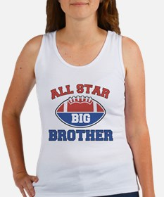 All Star Football Big Brother Women's Tank Top