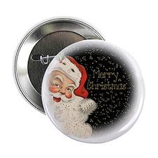 """Vintage Santa Claus 2.25"""" Button"""
