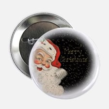 "Vintage Santa Claus 2.25"" Button"