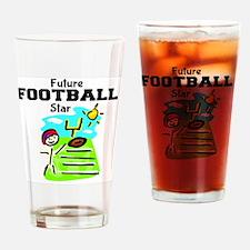 Future Football Star Drinking Glass