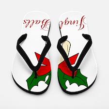 Jingle-Balls Flip Flops