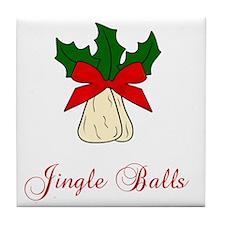 Jingle-Balls Tile Coaster