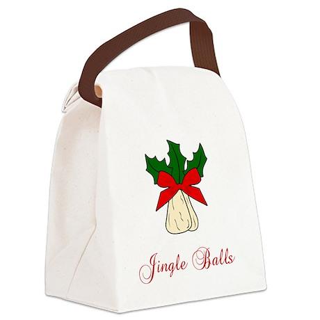 Jingle-Balls Canvas Lunch Bag