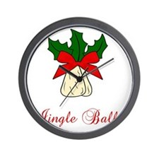 Jingle-Balls Wall Clock