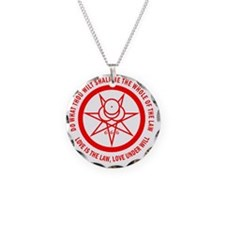 Mark of the Beast red Necklace