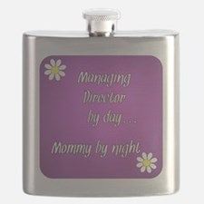 Managing Director by day Mommy by night Flask