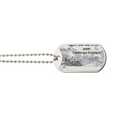 Landscape Architect Dog Tags
