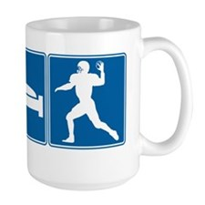 Eat Sleep Football Mug