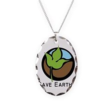 Save The Earth Logo Necklace