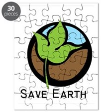 Save The Earth Logo Puzzle